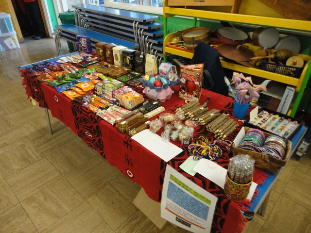 West Heslerton school in Fairtrade fortnight 2013