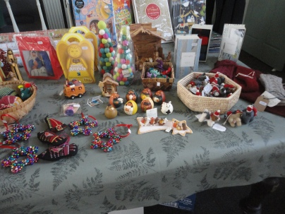 Christmas items, all Fairtrade